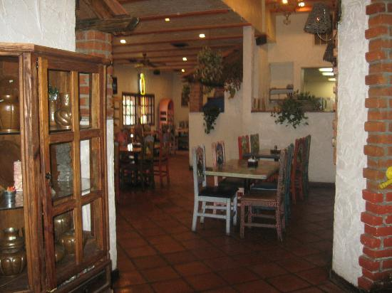 Pelanchos Mexican Grill Seating And Curio Cabinet Display