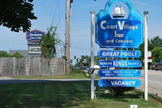 The Coast Village Inn & Cottages: Here's the sign to look for