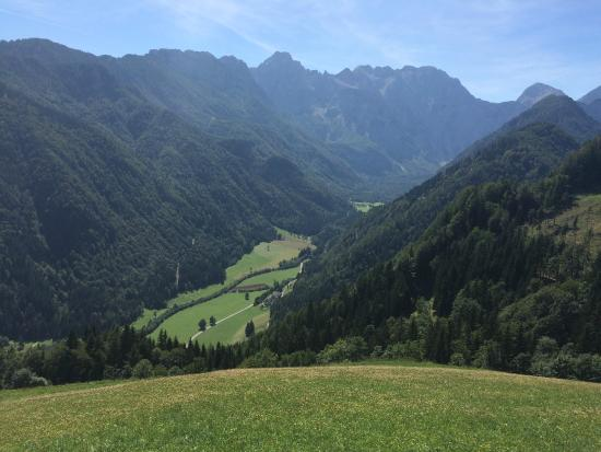 Solcava, Eslovenia: Logarska Dolina Valley from Above