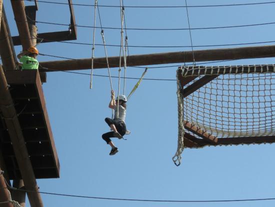 Adrenaline Adventures : Swinging over
