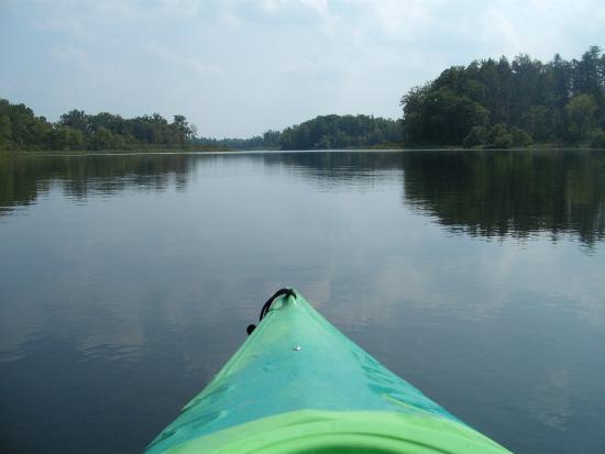 Newbury, OH: Kayaking on Punderson Lake