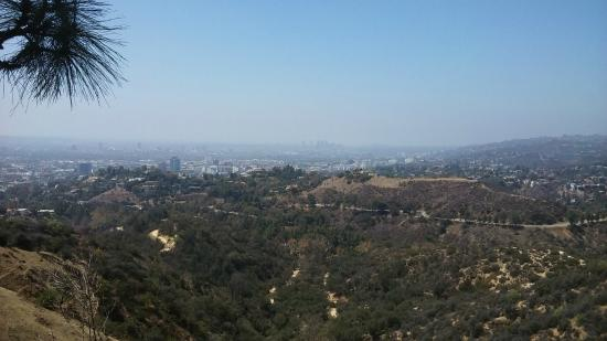 Griffith Observatorium: View from the Griffith Observatory