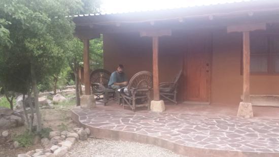 El Pedregal Hotel en la Naturaleza: Porch of our casita