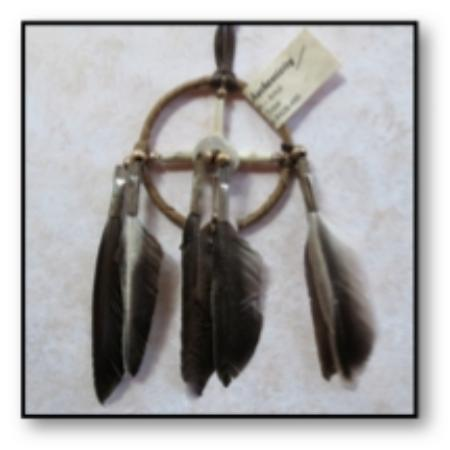 All Nations Trading: Small Medicine Wheel - SpiritFeather