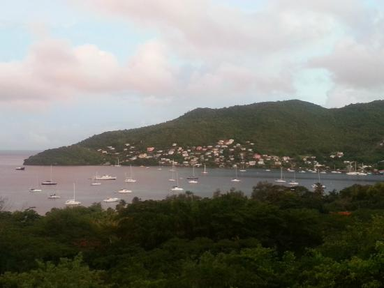 Belmont, Bequia: View of Hamilton
