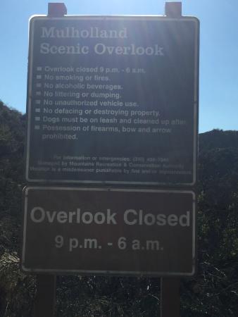Mulholland Scenic Corridor California United States
