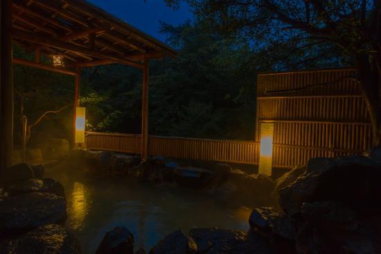 Yumei Hotel: 落ち着いた時間を過ごせる露天風呂