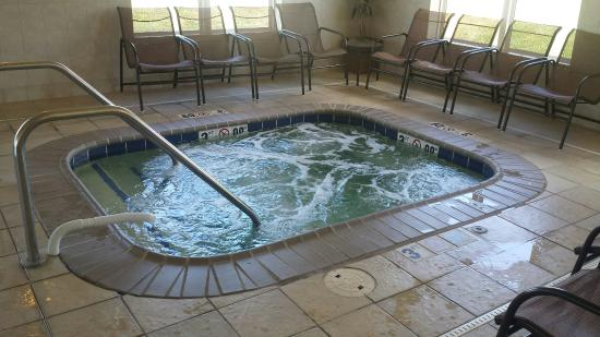 Holiday Inn Express Hotel & Suites Dubuque-West: Indoor pool and whirlpool