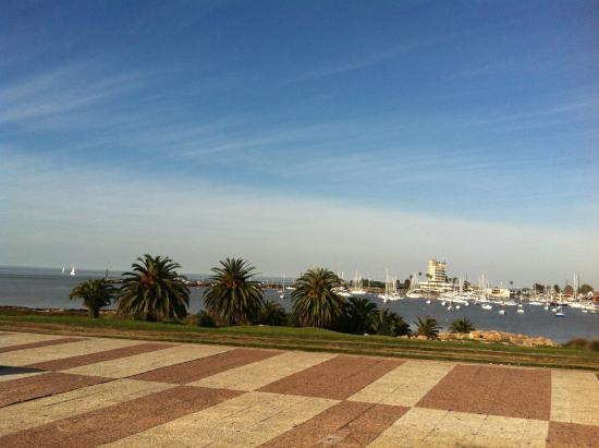 Rambla de Montevideo: Calçada ótima para esportes