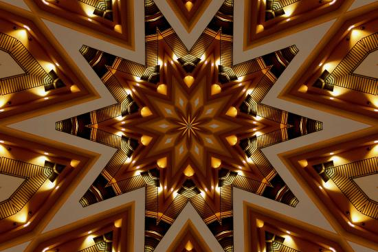 I kaleidoscoped the lobby in this photo. Charleston Embassy Suites.