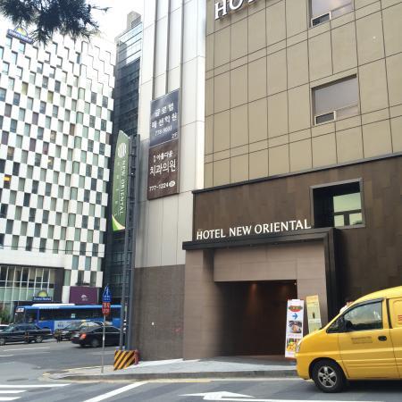 New Oriental Hotel Facade