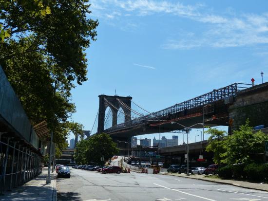 brooklyn bridge photo de real new york tours new york tripadvisor. Black Bedroom Furniture Sets. Home Design Ideas