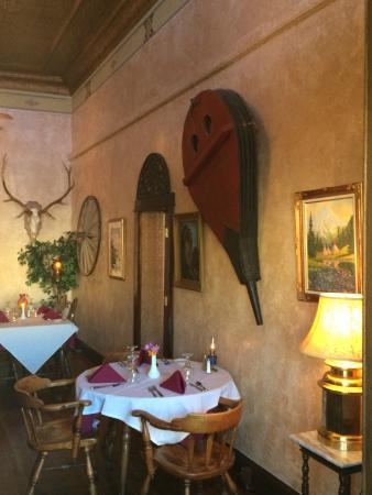 The  Virginian Restaurant: Section of interior in restaurant