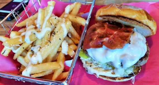 Crave Burgers + Frozen Yogurt