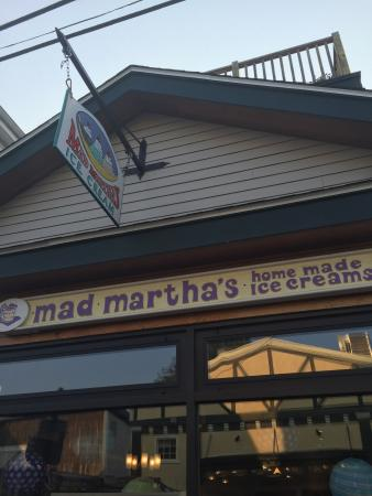 Mad Martha's Homemade Ice Cream