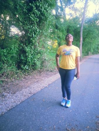Colonial Heights, Βιρτζίνια: In the park walking the trail