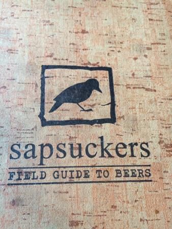 Sapsuckers Hops & Grub