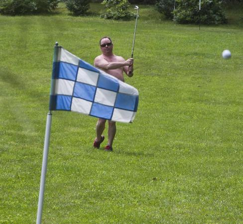 West Halifax, VT: Naked Golf