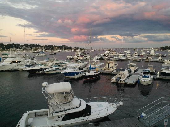 Michael's Harborside: View from the top deck