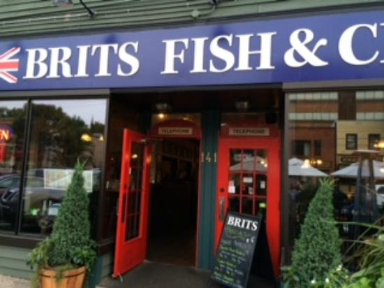 Brits Fish and Chips: Lovely outdoor seating