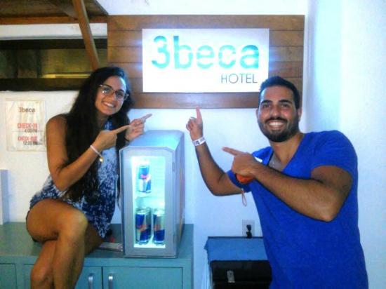 3beca Hotel: Happy guests!