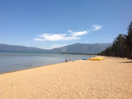South Lake Tahoe, Kalifornia: View from beach