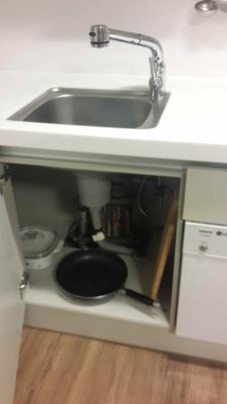 Hotel Atrium Vabien II : Sink