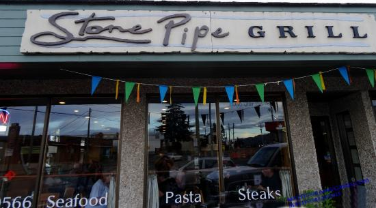 Stone Pipe Grill: Look Good or you will Miis Good Meal