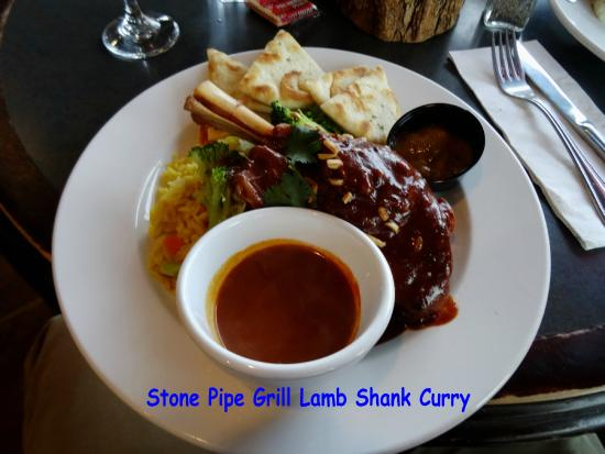 Stone Pipe Grill: Lamb Shank Curry