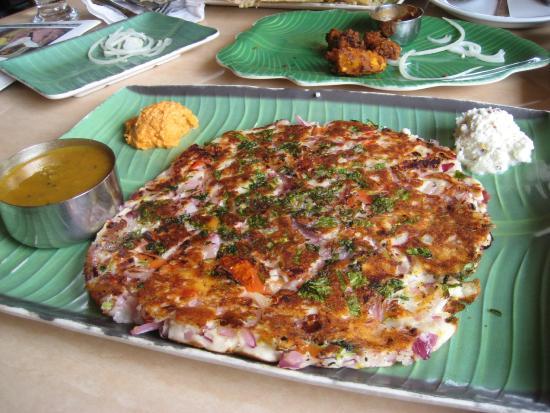 House of Dosas: Onion Uttapam