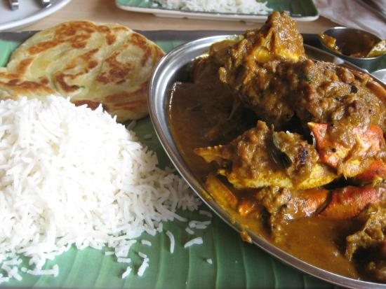 House of Dosas: Spicy Cocunut Crab Curry