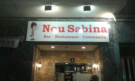 Restaurante Nou Sabina