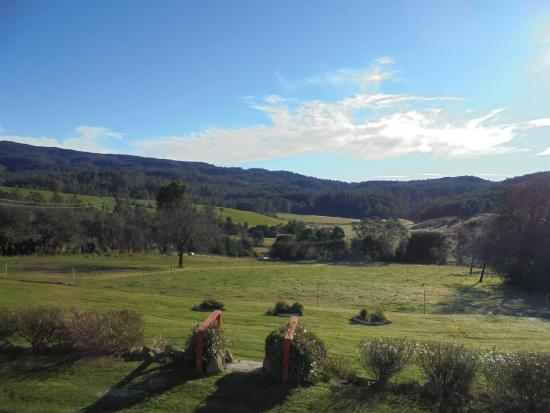 Goulds Country, Australia: Views from back deck (The Blue Tier)
