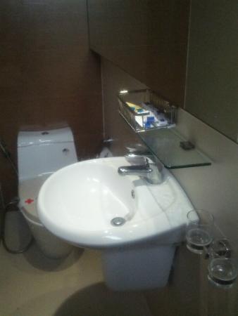 โรงแรมกรีนพีซ: Раковина