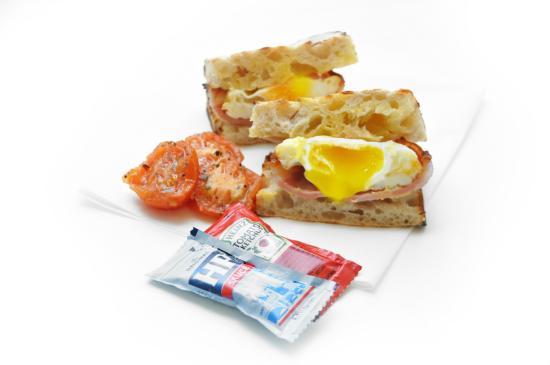 Nuvo: Smoked bacon, free range egg and sourdough...