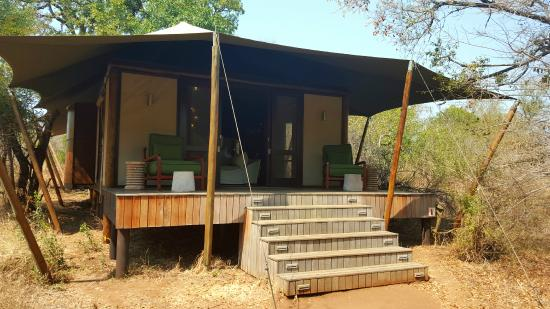 andBeyond Ngala Tented Camp: Zelt
