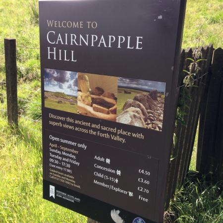 Bathgate, UK: Cairnpapple Hill