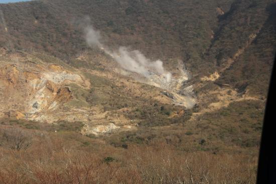 Choanji Temple : owaku dane valley