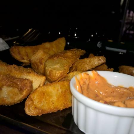Potato Wedges Picture Of The Floor By O Colombo Tripadvisor
