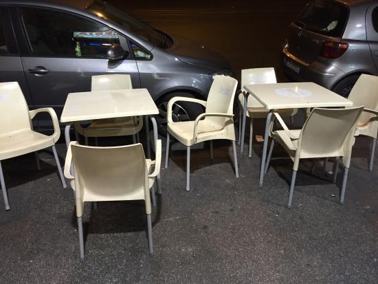 Foto de piccola palermo restaurant roma ingresso for Tavolini esterni