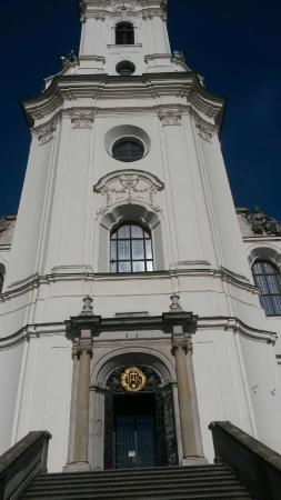 Moravia Trip: St Mary's cathedral - Krtiny