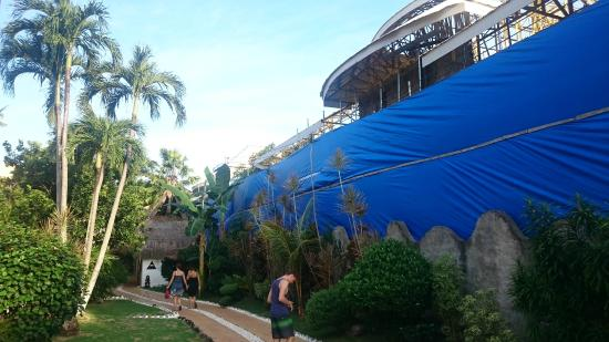 El Dorado Beach Resort: Baustelle