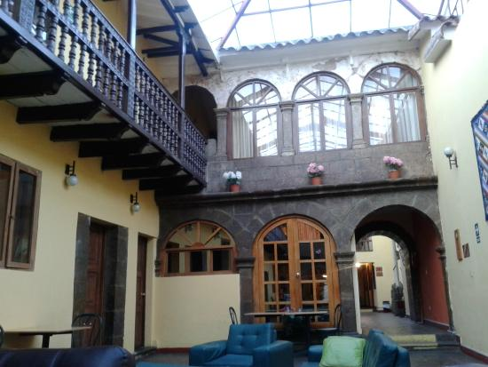 Cusco Plaza Nazarenas: Lobby