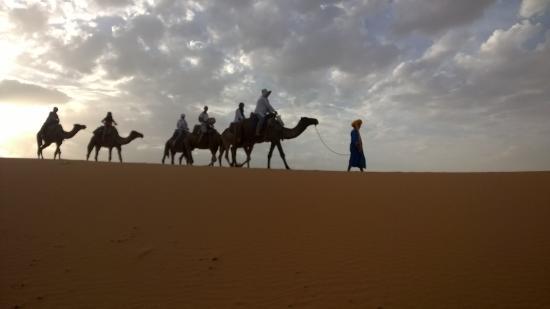 Auberge Les Roches: Ballade dans le désert1