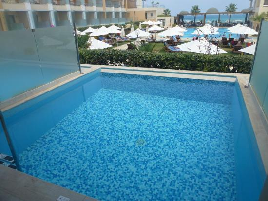 Minoa Palace Resort: Suite avec piscine privée