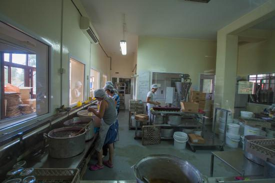 Agros, Cyprus: The way they make the famous jams