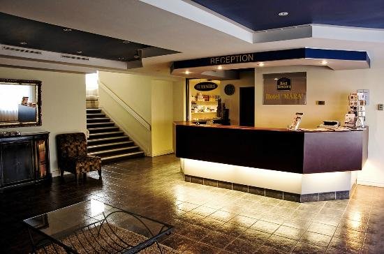 Best Western Airport Hotel Mara: Reception