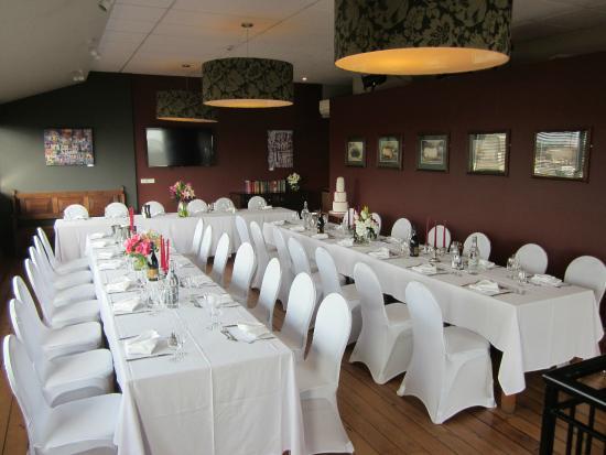 The Twisted Hop Pub: wedding reception
