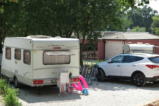 Funtana, Kroatië: Campingplatz