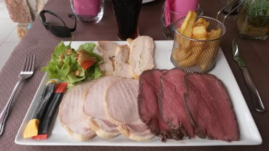 Brise de Mer Restaurant: Assiette pique nique, très bonne
